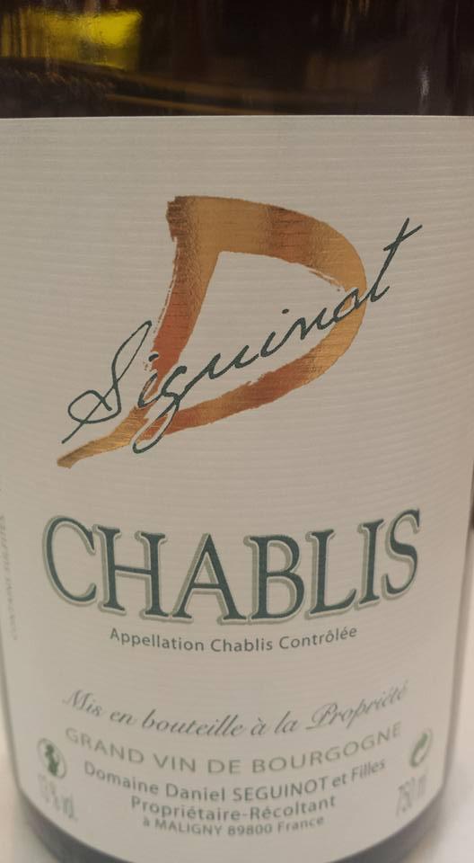 Daniel Seguinot 2014 – Chablis