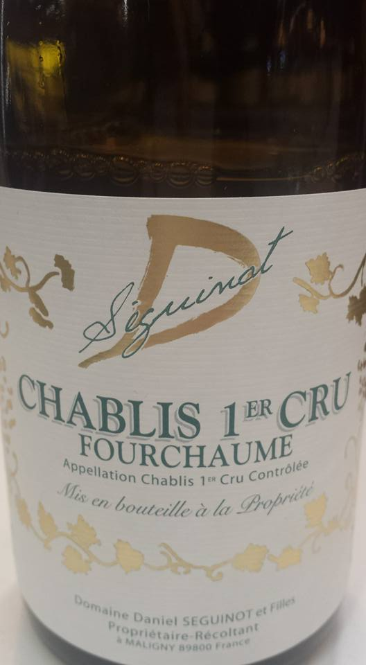Daniel Seguinot – Fourchaume 2014 – Chablis 1er Cru