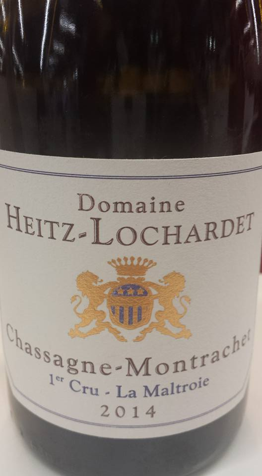 Domaine Heitz Lochardet – 1er Cru La Maltroie 2014 – Chassagne-Montrachet