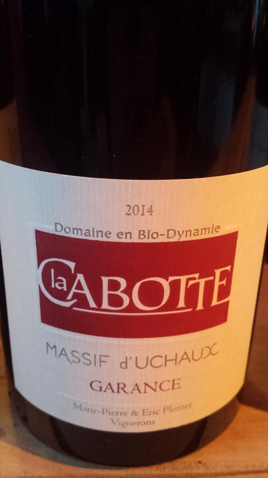 Domaine La Cabotte – Garance 2014 – Côtes du Rhône Villages – Massif d'Uchaux