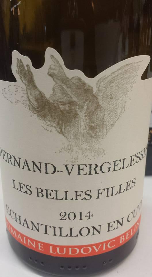 Domaine Ludovic Belin – Les Belles Filles 2014 – Pernand Vergelesses