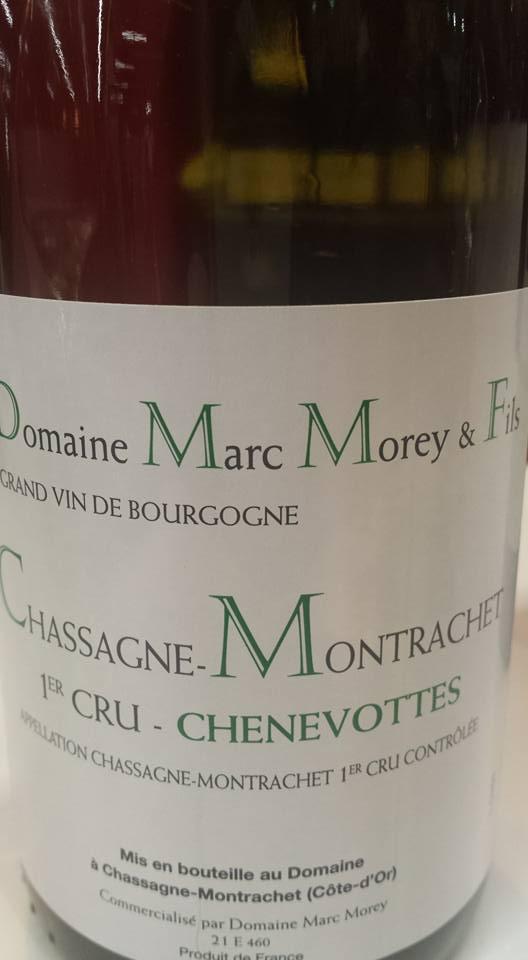 Domaine Marc Morey & Fils – Chenevottes 2014 – 1er Cru – Chassagne Montrachet