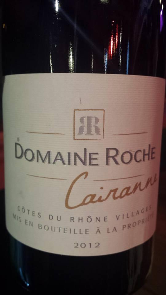 Domaine Roche 2013 – Côtes du Rhône Villages Cairanne