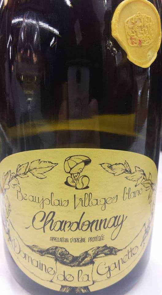 Domaine de la Gapette – Chardonnay 2014 Cuvée fût de chêne – Beaujolais Villages