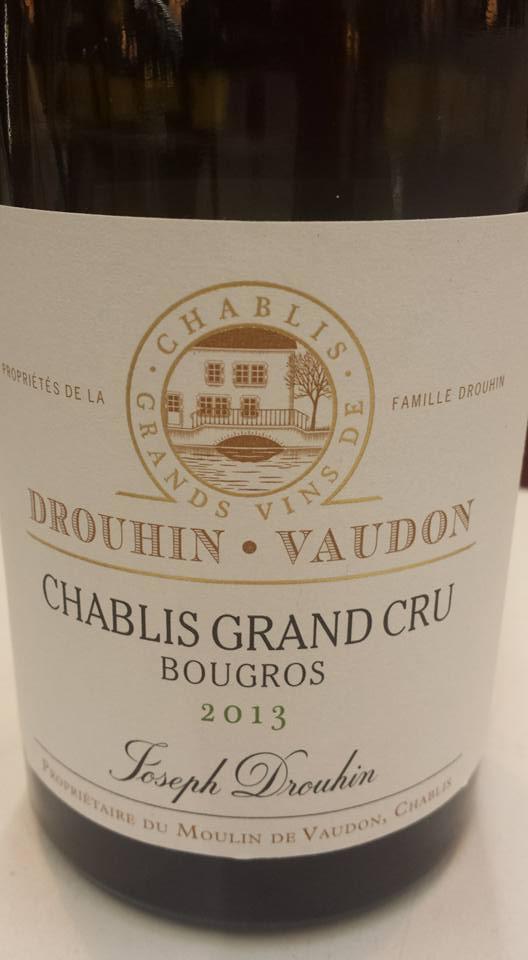 Drouhin-Vaudon – Bougros 2013 – Chablis Grand Cru