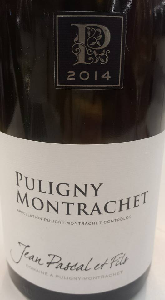 Jean Pascal et Fils 2014 – Puligny Montrachet