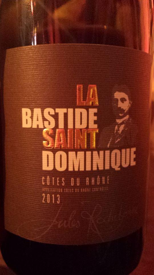 La Bastide Saint-Dominique 2013 – Jules Rochebonne – Côtes du Rhône