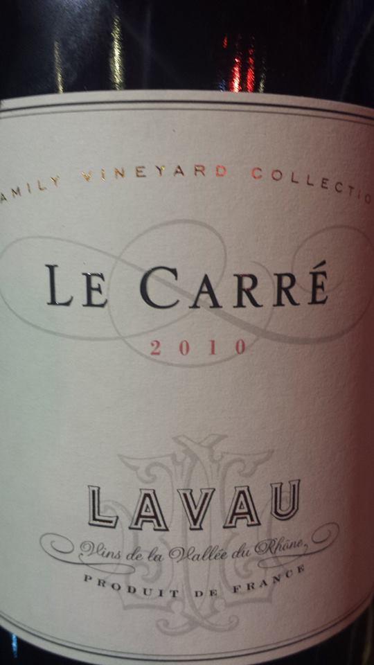 Lavau – Le Carré 2010 – Côtes du Rhône Villages Valréas