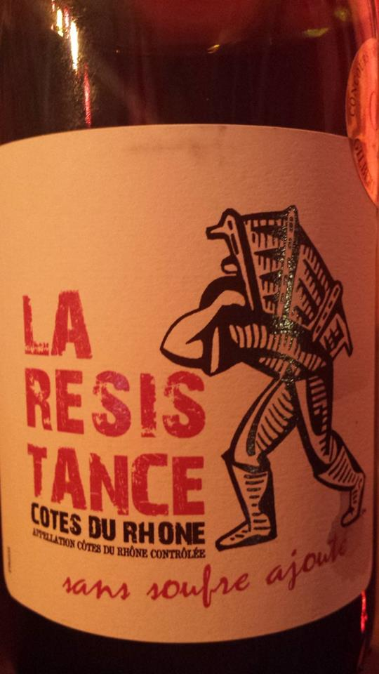 Maison Louis Mousset – La Résistance 2014 – Côtes du Rhône