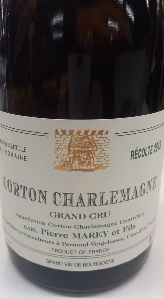 Pierre Marey & Fils 2013 – Corton Charlemagne Grand Cru