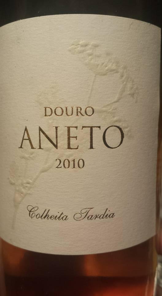 Aneto – Late Harvest 2010 – Colheita Tardia – Douro