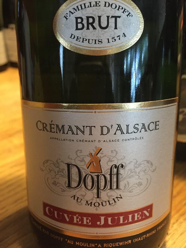 Dopff Au Moulin – Cuvée Julien – brut – Crémant d'Alsace