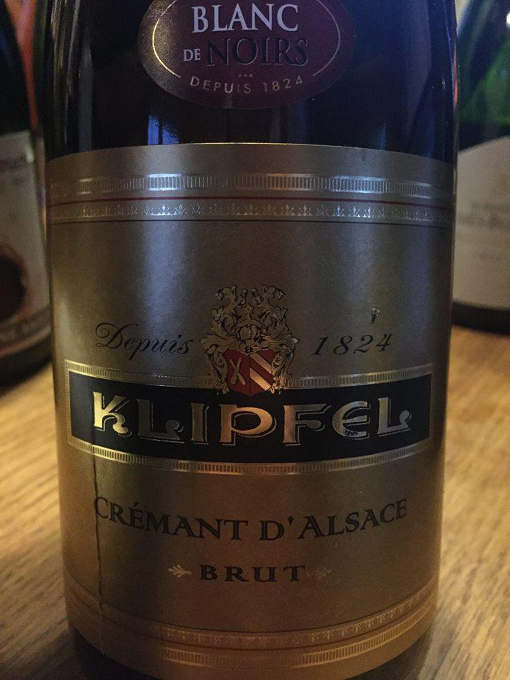 Klipfel – Blanc de Noirs – Brut – Crémant d'Alsace