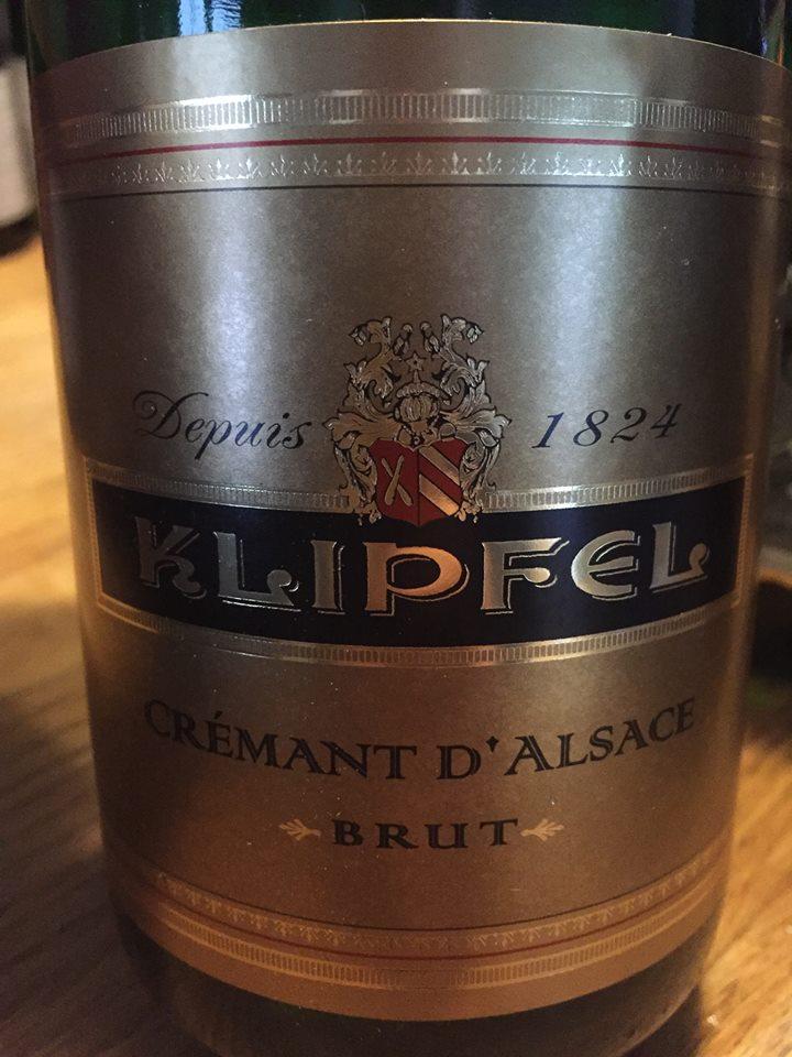 Klipfel – Brut – Crémant d'Alsace