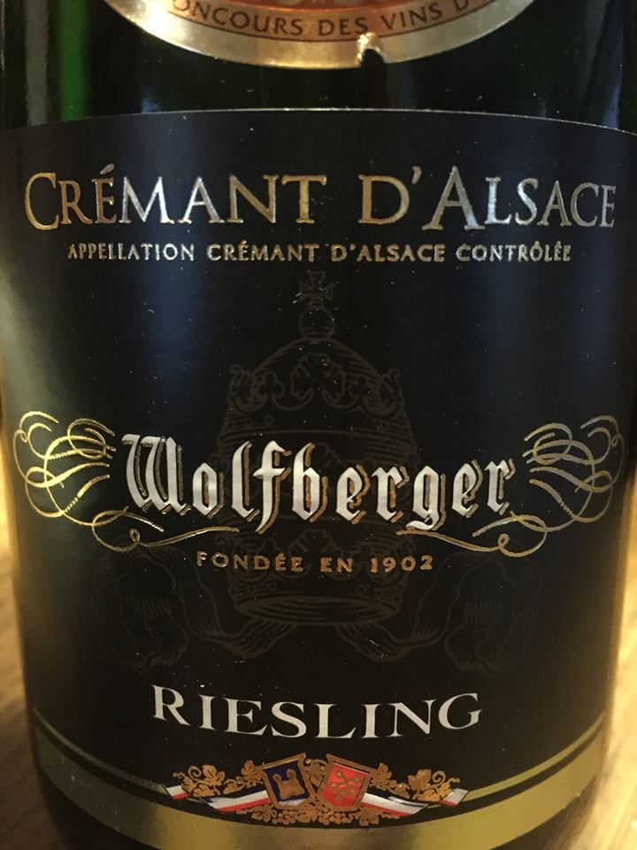 Wolfberger – Riesling – Crémant d'Alsace