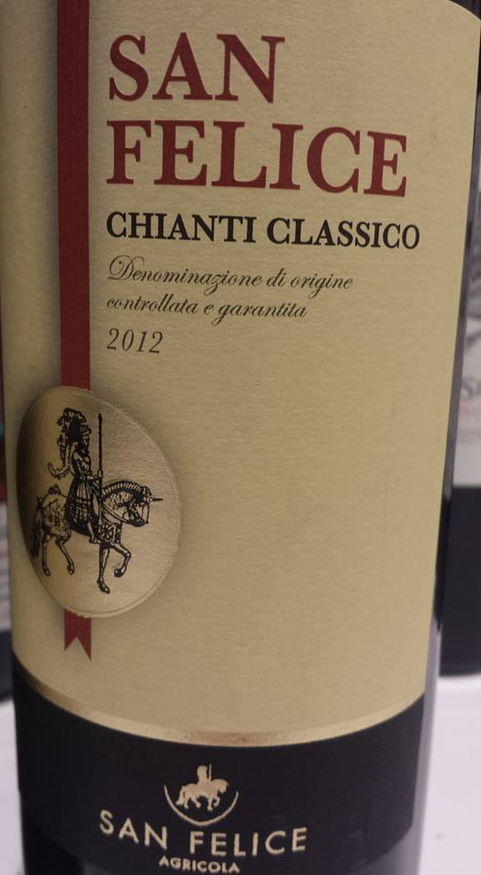 Agricola San Felice 2012 – Chianti Classico