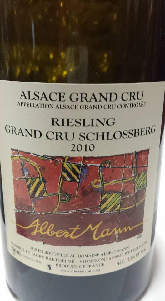 Albert Mann – Riesling Schlossberg 2010 – Alsace Grand Cru