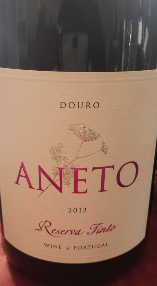 Aneto – Reserva Tinto 2012 – Douro