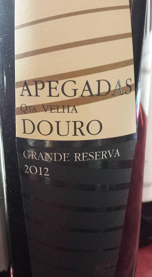Apegadas – Quinta Velha – Grande Reserva 2012 – Douro