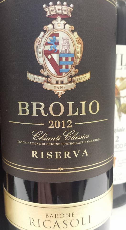 Barone Ricasoli – Brolio 2012 – Chianti Classico Riserva
