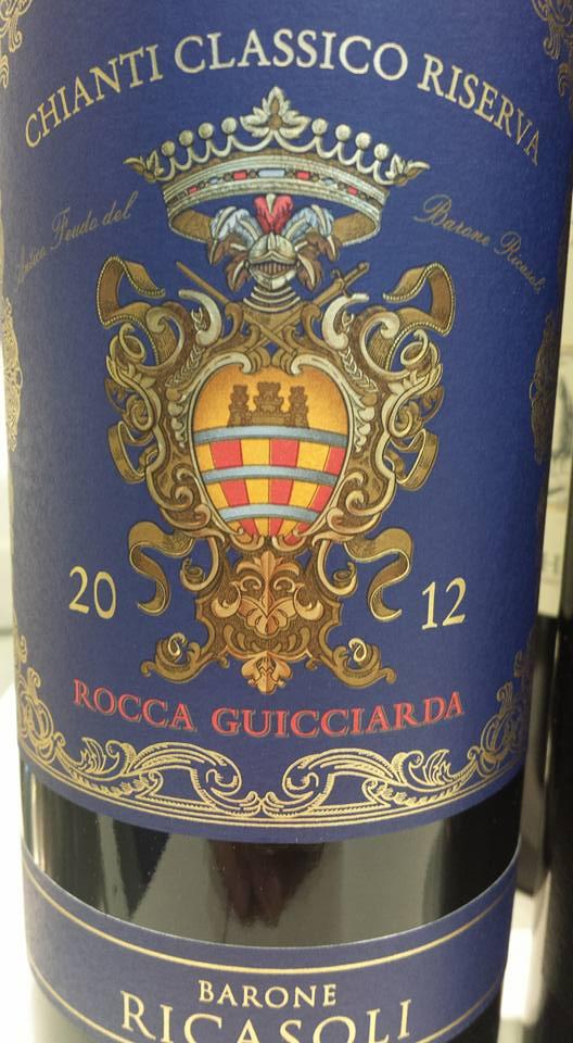 Barone Ricasoli – Rocca Guicciarda 2012 – Chianti Classico Riserva