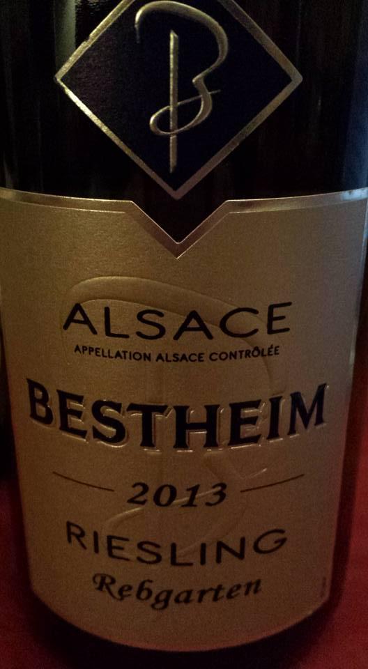 Bestheim – Riesling 2013 – Rebgarten – Alsace