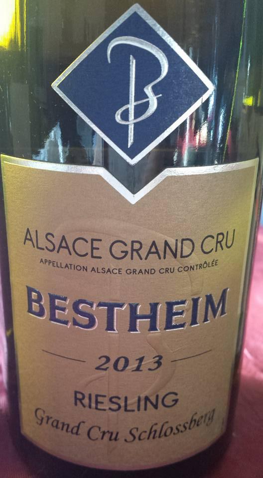 Bestheim – Riesling 2013 – Alsace Grand Cru Schlossberg