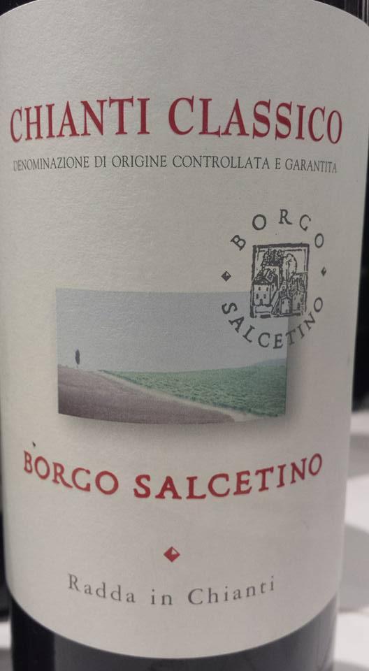Borgo Salcetino 2013 – Chianti Classico