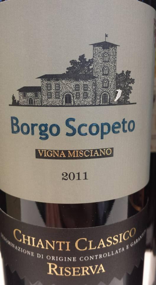 Borgo Scopeto – Vigna Misciano 2011 – Chianti Classico Riserva