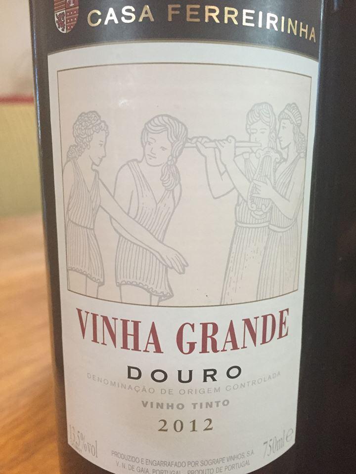 Casa Ferreirinha – Vinha Grande 2012 – Douro