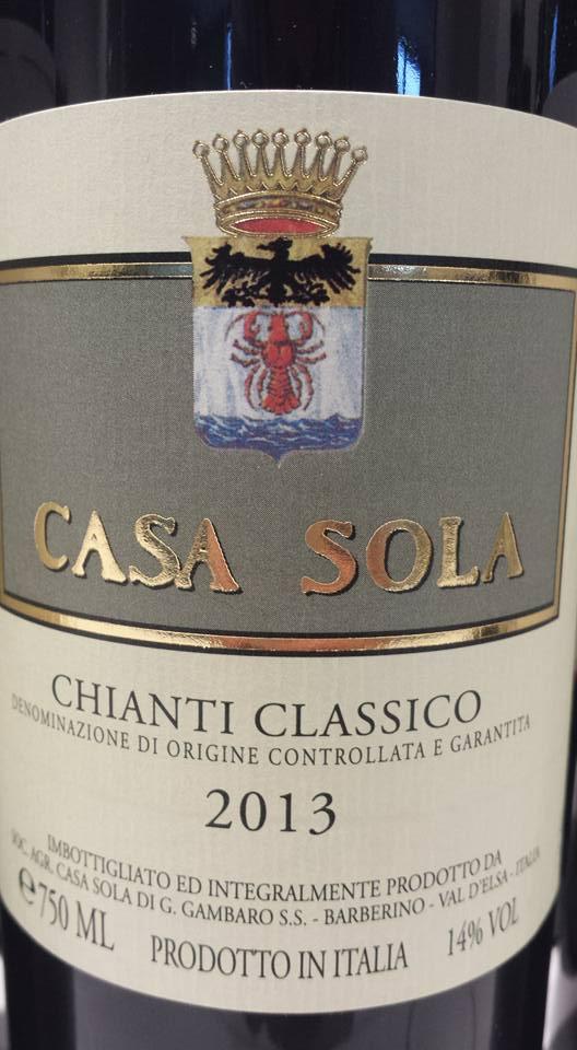 Casa Sola 2013 – Chianti Classico