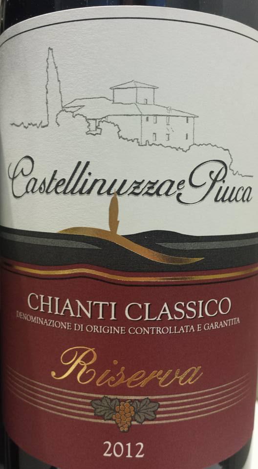 Castellinuzza Piuca 2012 – Chianti Classico Riserva