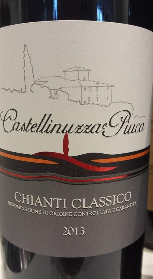 Castellinuzza e Piuca 2013 – Chianti Classico
