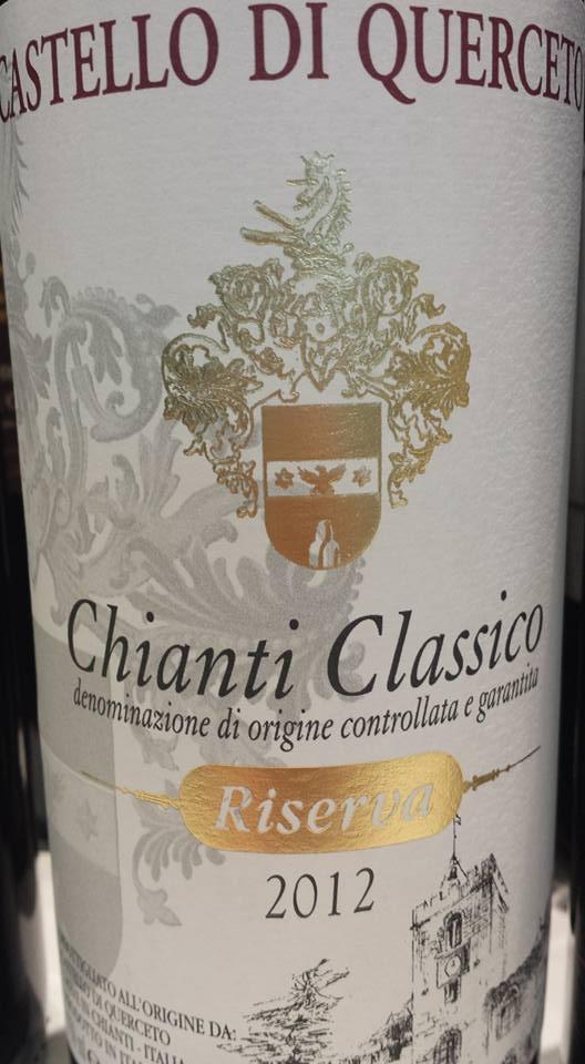 Castello di Querceto 2012 – Chianti Classico Riserva