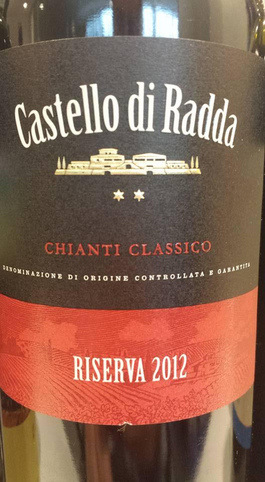 Castello di Radda 2012 – Chianti Classico Riserva