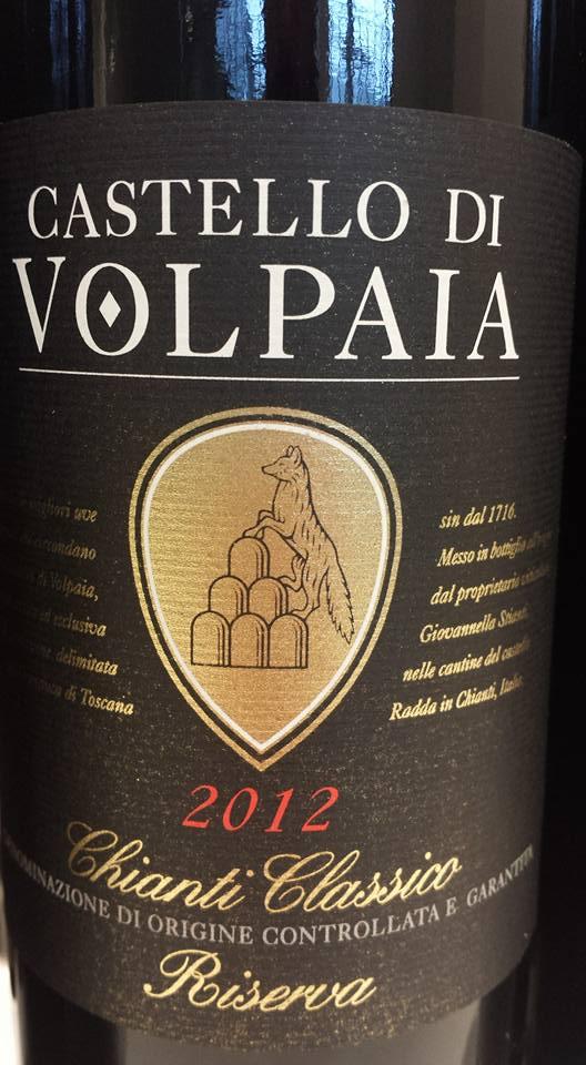 Castello di Volpaia 2012 – Chianti Classico Riserva