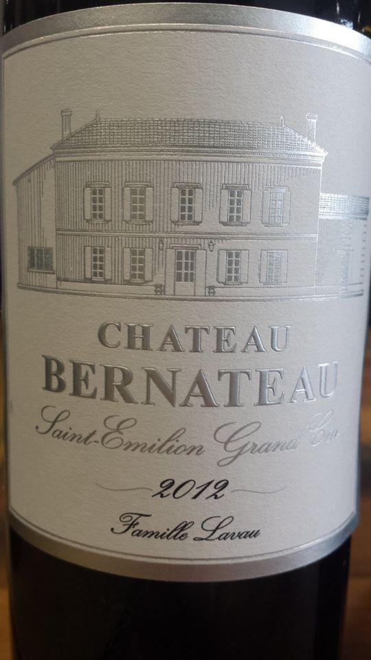 Château Bernateau 2012 – Saint-Emilion Grand Cru