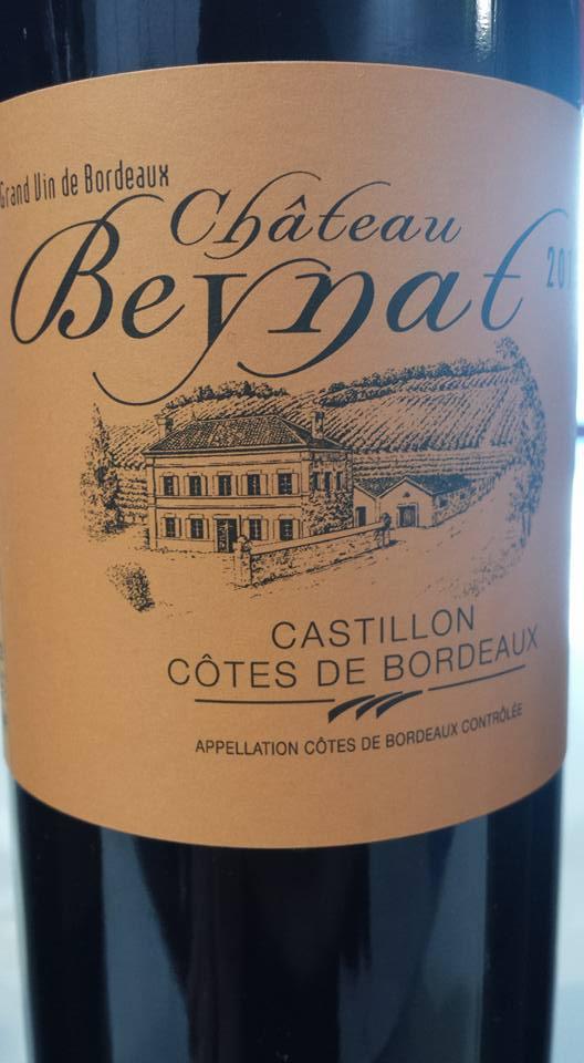 Château Beynat 2012 – Castillon côtes de Bordeaux
