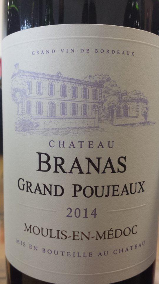 Château Branas Grand Poujeaux 2014 – Moulis-en-Médoc