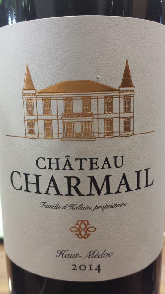 Château Charmail 2014 – Haut-Médoc