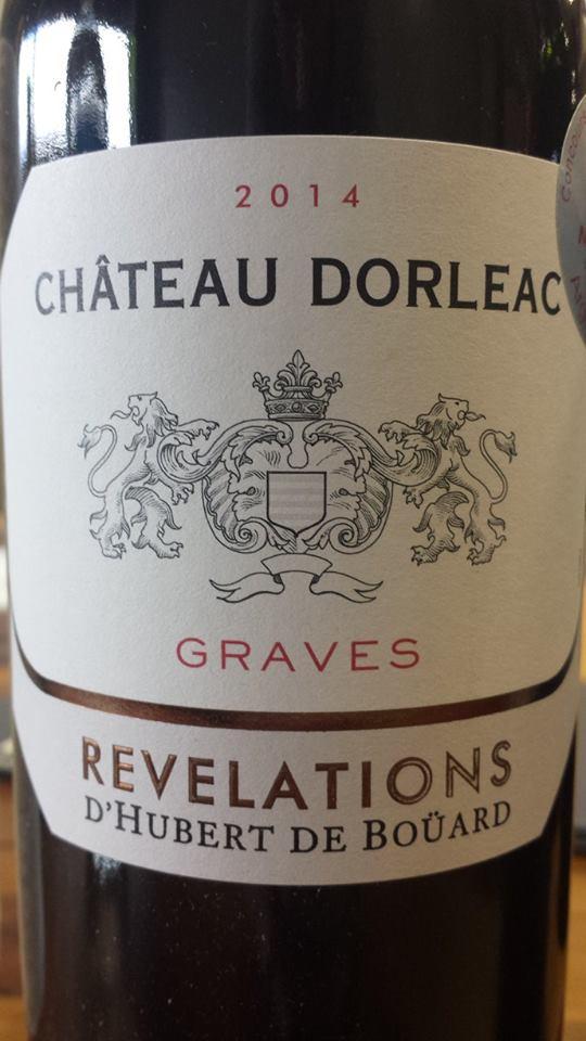 Château Dorleac – Révélations 2014 – Graves