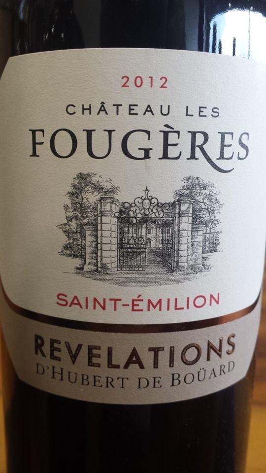 Château Fougères – Révélations 2012 – Saint-Emilion