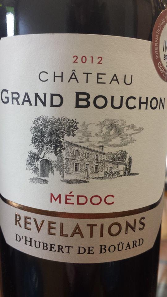 Château Grand Bouchon – Révélations 2012 – Médoc