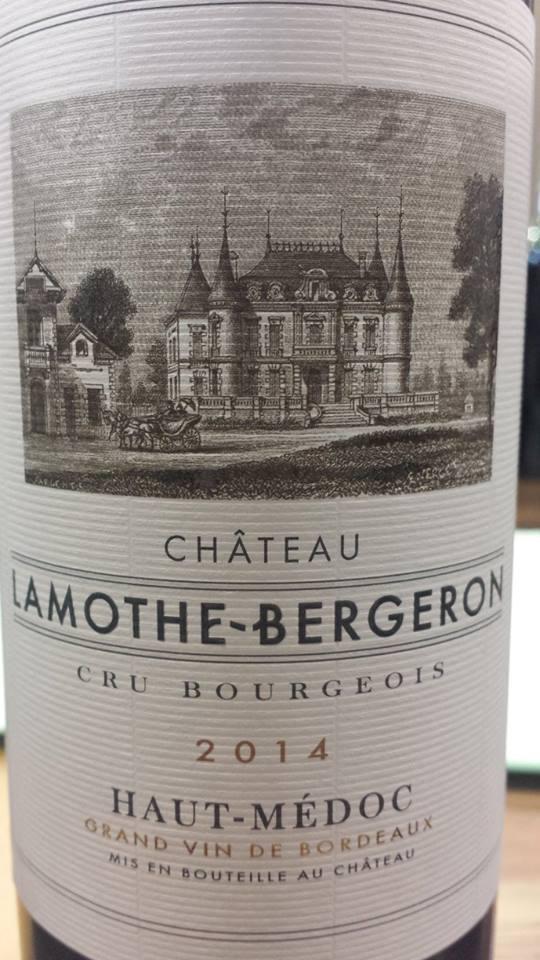 Château Lamothe-Bergeron 2014 – Haut-Médoc
