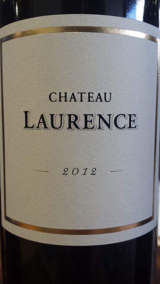 Château Laurence 2012 – Bordeaux Supérieur