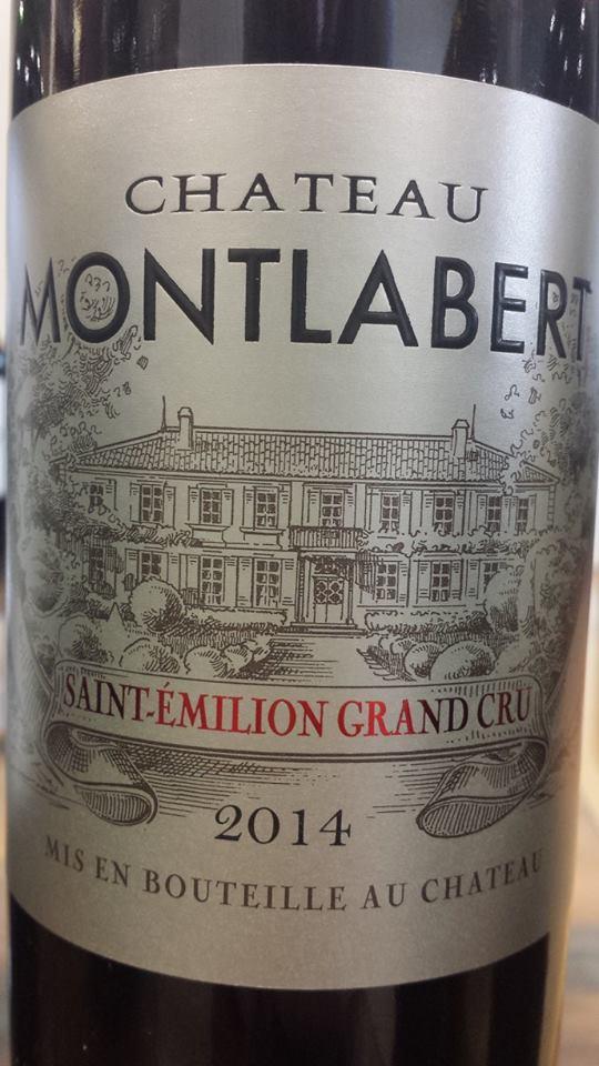 Château Montlabert 2014 – Saint-Emilion Grand Cru