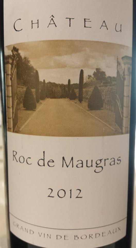 Château Roc de Maugras 2012 – Castillon côtes de Bordeaux