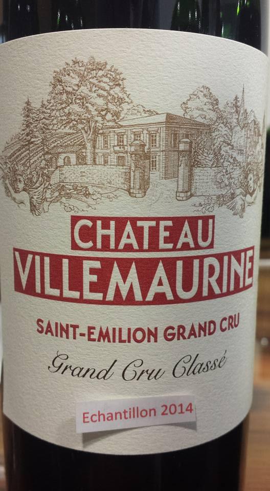 Château Villemaurine 2014 – Saint-Emilion Grand Cru Classé