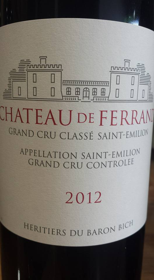 Château de Ferrand 2012 – Saint-Emilion Grand Cru Classé