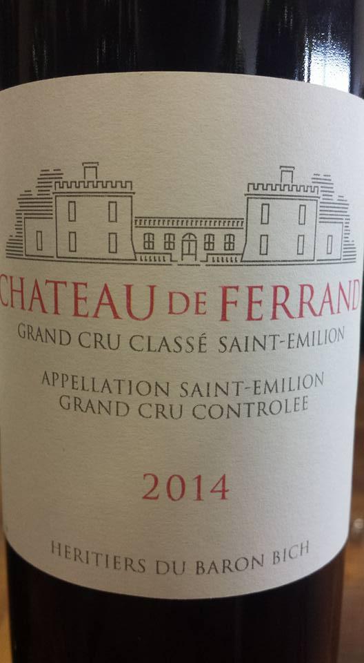 Château de Ferrand 2014 – Saint-Emilion Grand Cru Classé